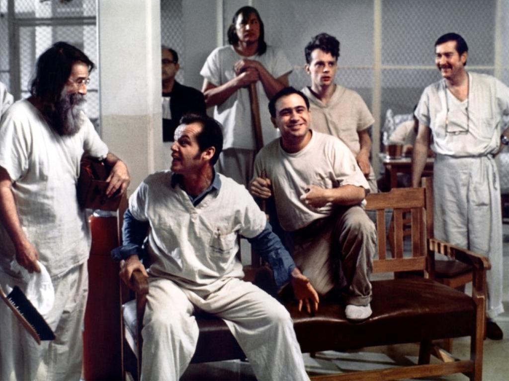 Cinquante ans d'aventure psychiatrique vus par Boris Cyrulnik, Les âmes blessées, par une image extraite du film Vol au-dessus d'un nid de coucou