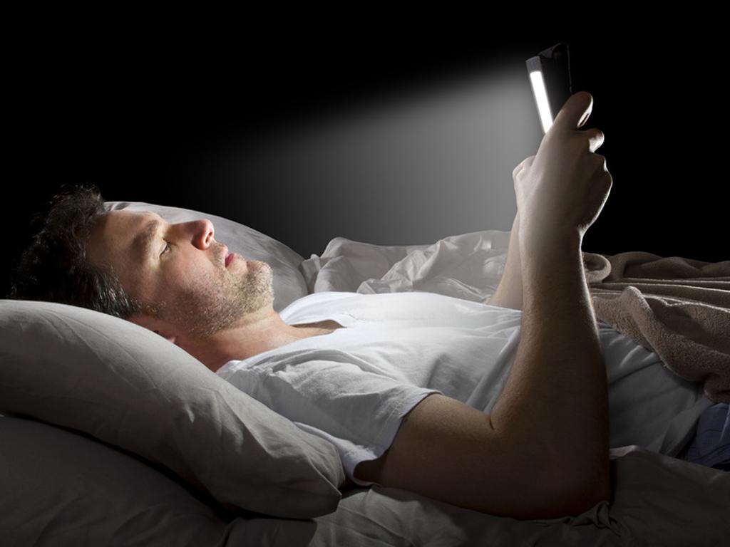Lumière bleue nocive pour le sommeil