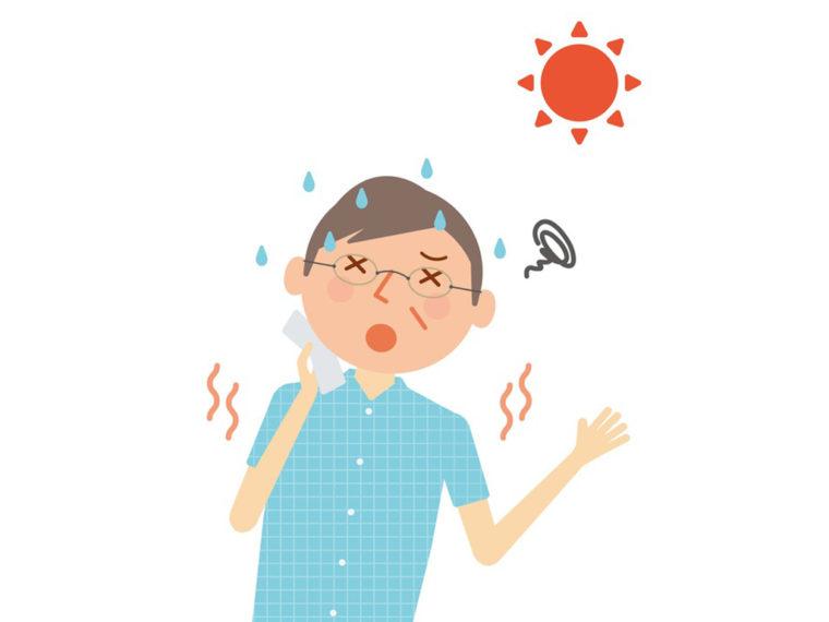 Canicule : pathologies dues à la chaleur