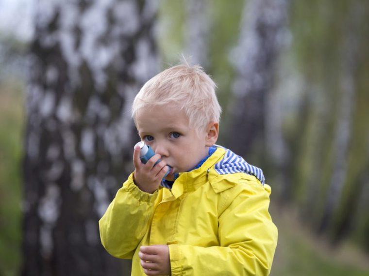 asthme, enfants et pollution
