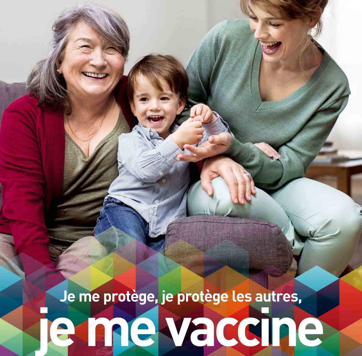 Affiche Vaccination Sante publique France recadrée