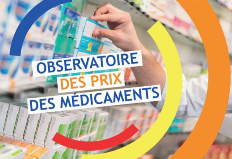 Observatoire des prix des médicaments 2018 de Familles Rurales