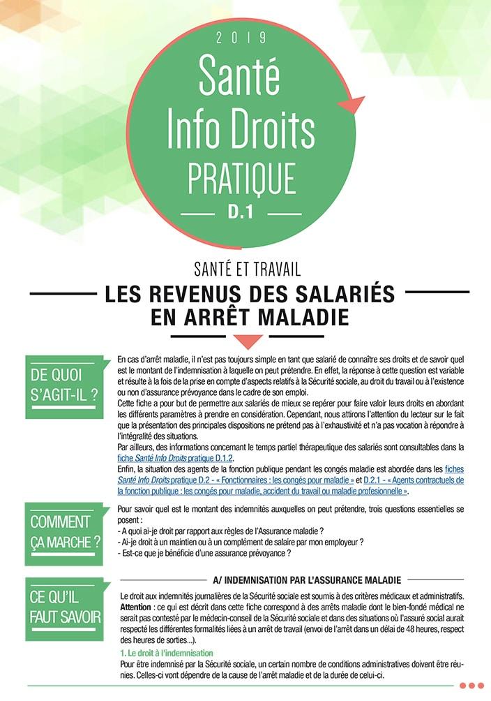 6df8df7e0b1 D.1 Les revenus des salariés en arrêt maladie - France Assos Santé