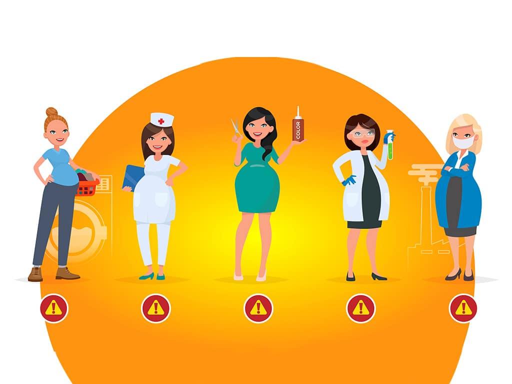 femmes enceintes au travail et risques santé