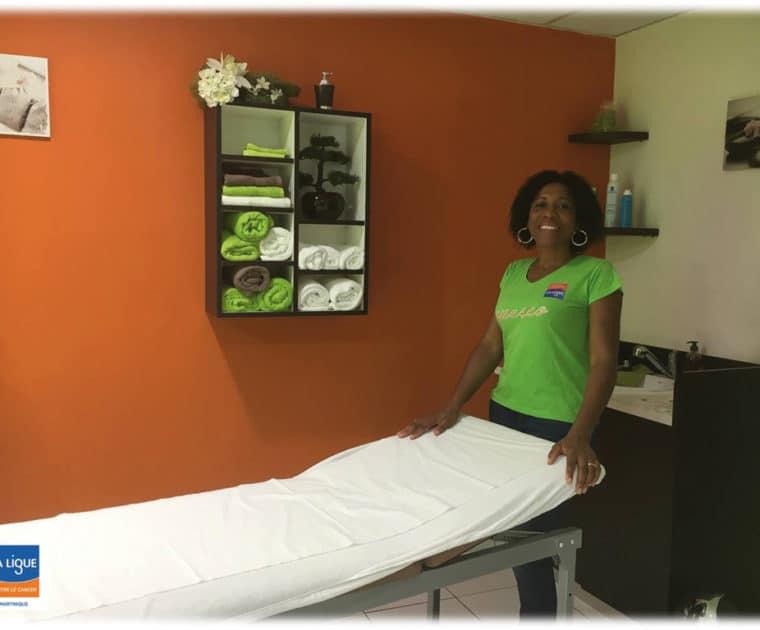 Les soins socio-esthétiques du projet APESEO de la Ligue contre le cancer en Martinique
